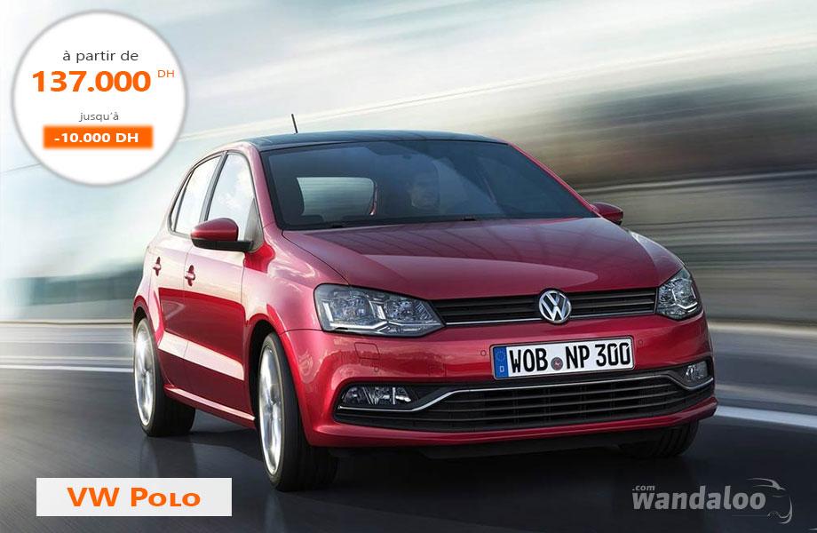 Volkswagen Polo neuve en promotion au Maroc