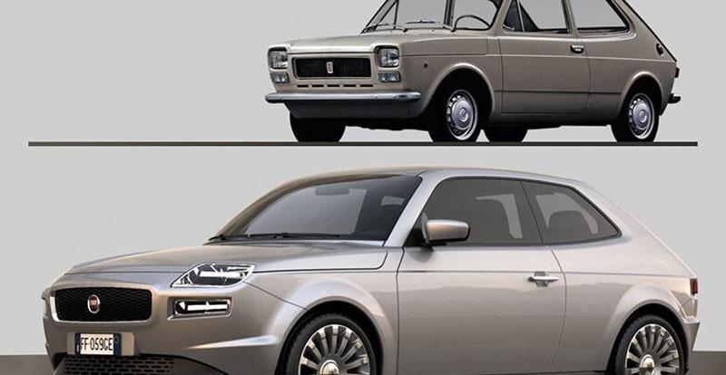 La FIAT 127 imaginée par le designer David Obendorfer
