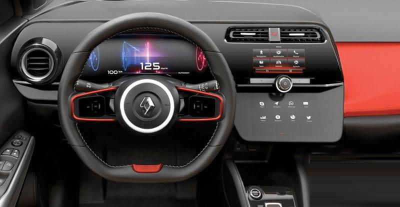 Il serait révolutionnaire cet habitacle de la Renault Clio 5 ( source : Auto-Moto )