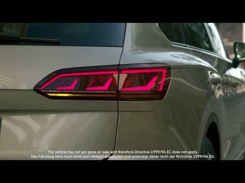 Nouveau Teaser du futur VW Touareg