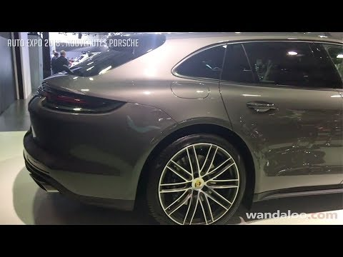 AUTO EXPO 2018 - Nouveautés Porsche