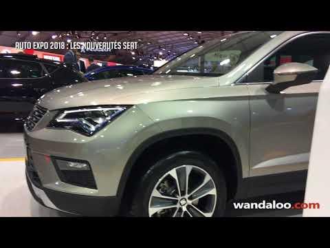 AUTO EXPO 2018 - les nouveautés SEAT