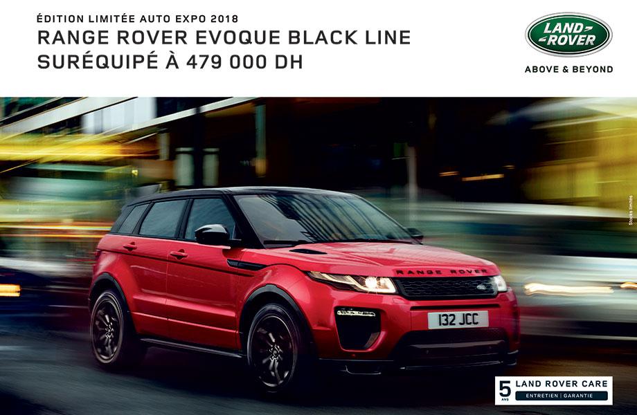 Land Rover Land Rover neuve en promotion au Maroc