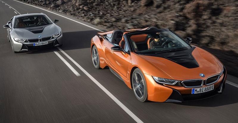 Essai - BMW i8 Roadster 2018