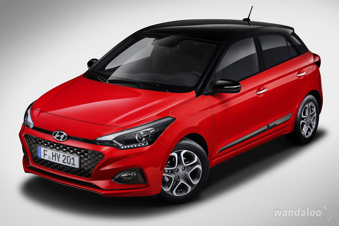 Hyundai i20 facelift 2019