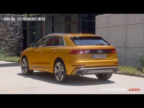 Audi Q8 2019 - les premières infos