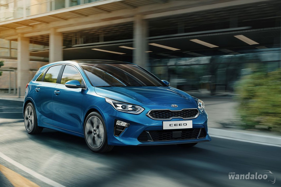 KIA Ceed facelift 2019