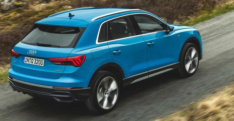 Plus dynamique que sa devancière, l'Audi Q3 devient aussi plus familiale