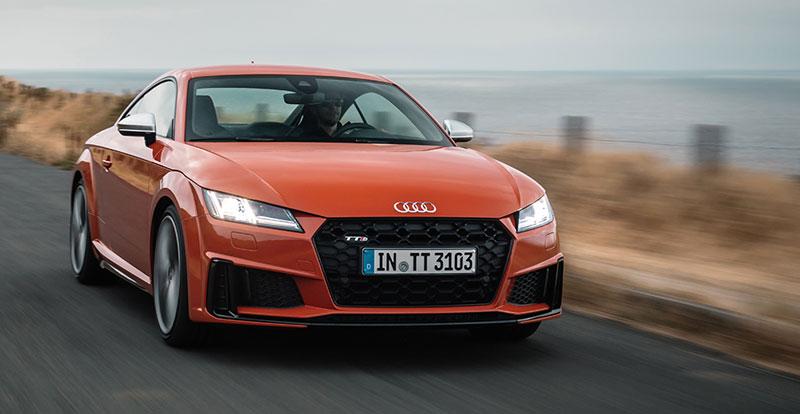 Nouveauté mondiale - L'Audi TT s'offre un restylage dans la tradition allemande !
