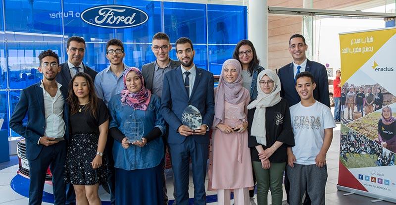 Actu. nationale - Ford Motor Company Fund et Enactus Morocco s'engagent pour l'entreprenariat social et le développement durable