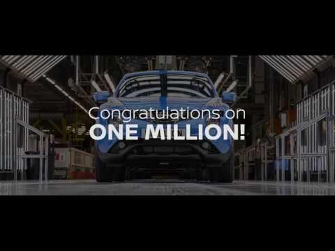 Un million de Juke produit à l'usine Nissan de Sunderland