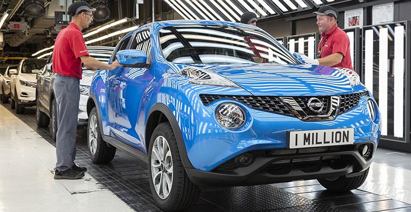 Actu. internationale - Un million de Juke produit à l'usine Nissan de Sunderland