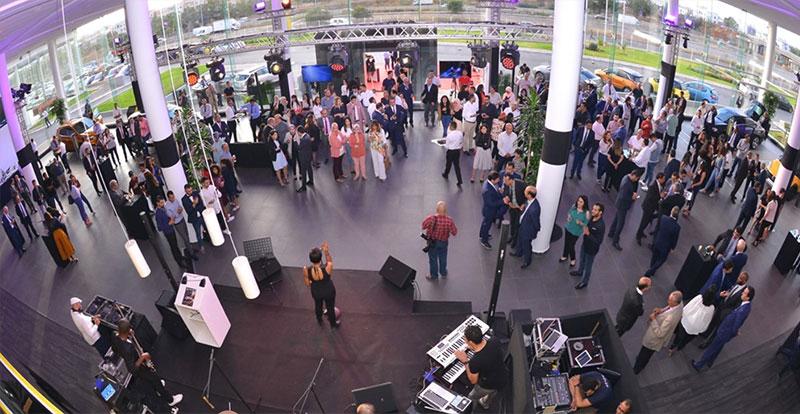 Soirée d'inauguration du nouveau showroom OPEL ( crédit photo : Auto Hall )