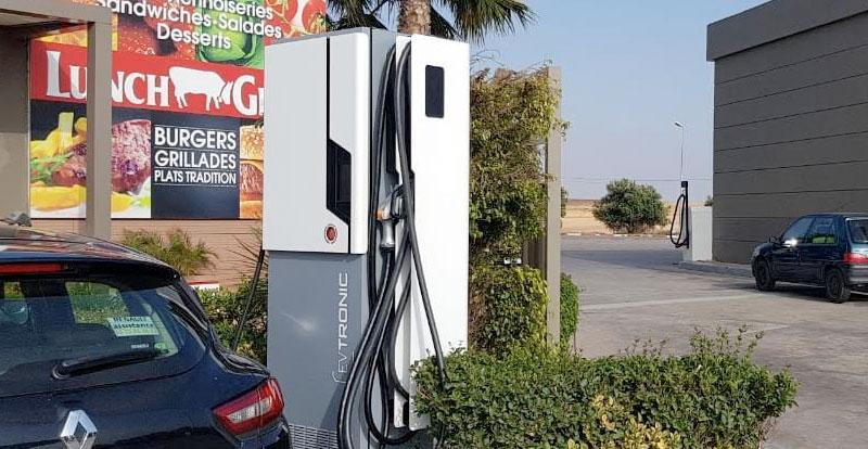 Actu. nationale - 15 stations-service TOTAL Maroc dotées de bornes de recharge électriques
