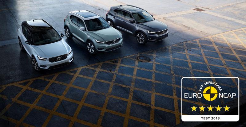 Actu. internationale - Le Volvo XC40 décroche cinq étoiles aux tests Euro NCAP