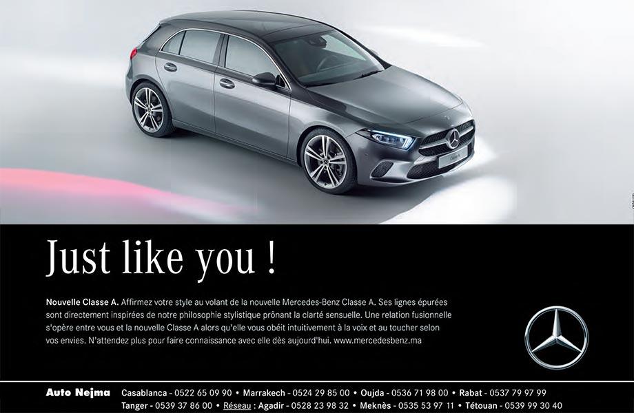 Mercedes Mercedes neuve en promotion au Maroc