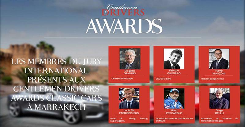 Actu. nationale - 6e édition des Gentlemen Drivers Awards Modern & Classic Cars
