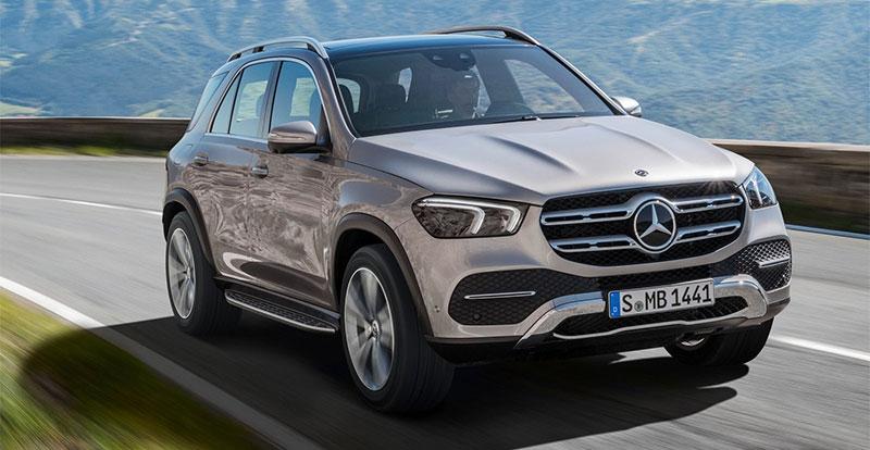 Avant-première - Comme un air de famille sur le Mercedes GLE 2019