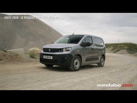 Peugeot Partner élu « Van of the Year 2019 »