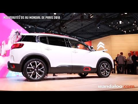 Nouveautés Citroën au Mondial de Paris 2018