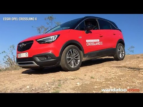 OPEL Crossland X, le SUV polyvalent !