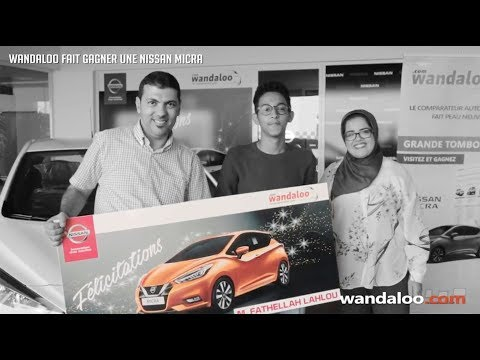 wandaloo.com fait gagner une Nissan Micra !