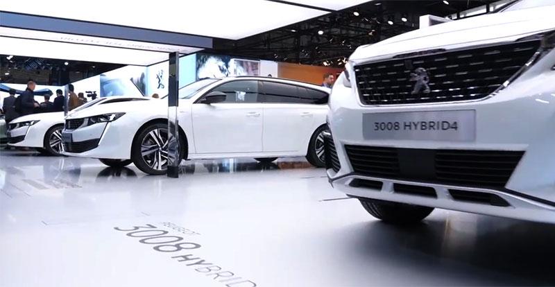 PEUGEOT a profité du Mondial de l'auto de Paris pour présenter sa nouvelle gamme hybride