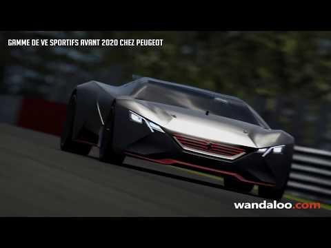 Voitures sportives électriques chez Peugeot en 2020