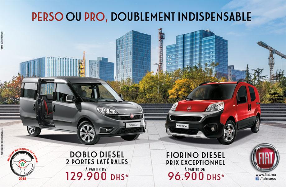 Fiat Fiat neuve en promotion au Maroc