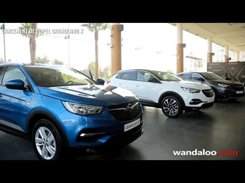 Lancement de l'OPEL Grandland X 2018 au Maroc