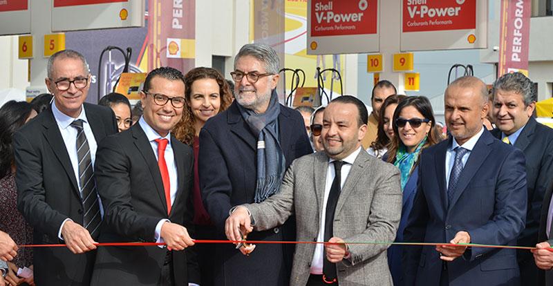 Actu. nationale - SHELL inaugure la nouvelle station « Parc Bouskoura »