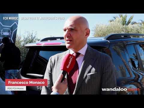 Groupe FCA Maroc : Bilan 2018 et nouveautés 2019