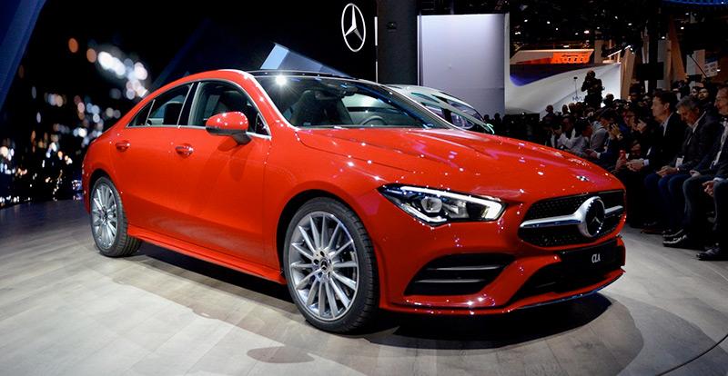 Première mondiale - Mercedes CLA 2020 - les premières infos