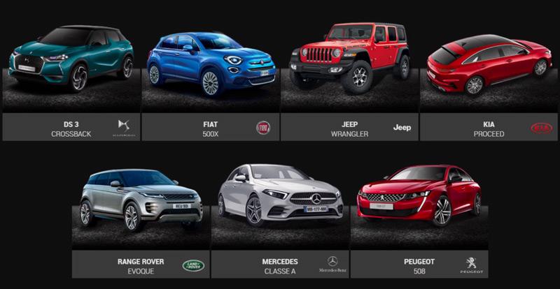 Les 7 finalistes des Grands Prix du Festival Automobile International de Paris