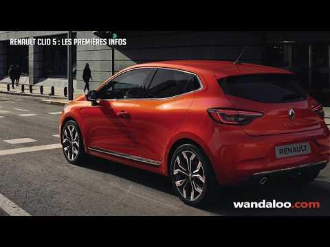 Renault Clio 5 - les premières infos