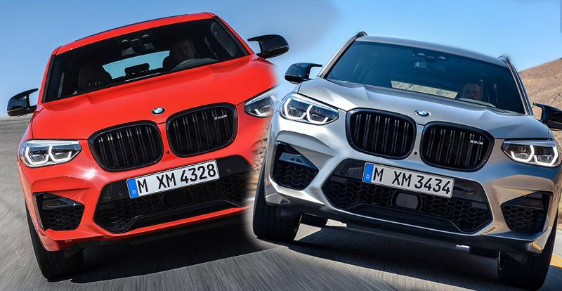 Nouveauté mondiale - Des variantes sportives pour les BMW X3 et X4