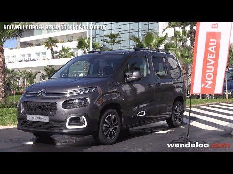 Citroën lance son nouveau Berlingo au Maroc
