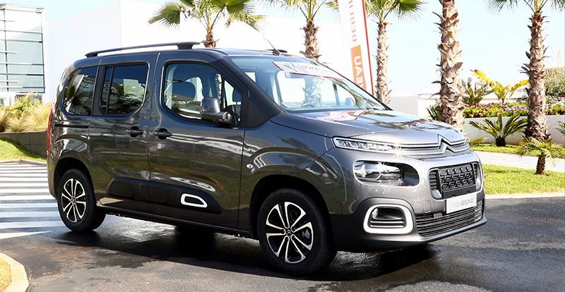 Nouveauté Maroc - Citroën introduit son nouveau Berlingo au Maroc