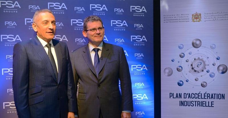 Actu. nationale - Groupe PSA s'approvisionne à hauteur de 700 million d'Euro au Maroc