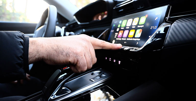 Grand écran tactile HD capacitif de 10 pouces multifonctions