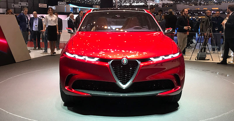 Salon - Nouveautés Alfa Romeo au salon de Genève 2019