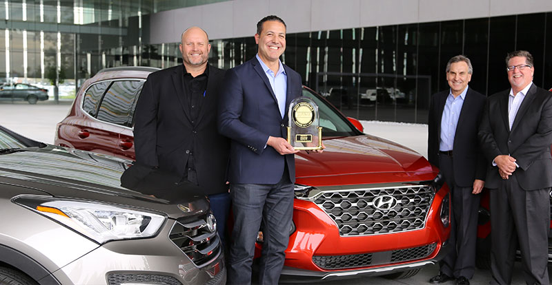 Actu. internationale - Hyundai Santa Fe est le plus fiable des SUV en 2019