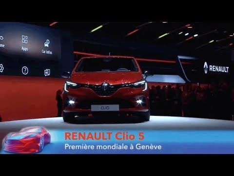 Renault Clio 5 au salon de Genève 2019