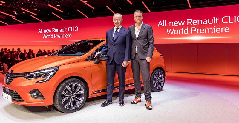 Salon - Renault Clio 5 en première mondiale à Genève