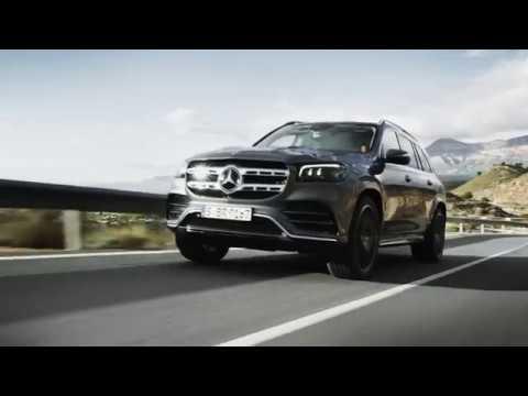 Mercedes GLS en première mondiale