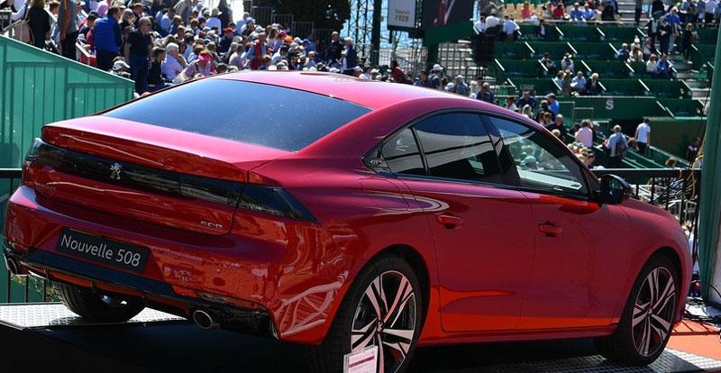 Actu. internationale - Jeu, set et match pour Peugeot au tournoi de Monte-Carlo !