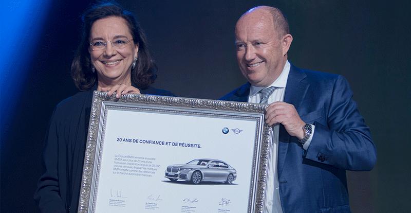 Actu. nationale - SMEIA « le3ziza » après 20 ans de partenariat avec BMW Group