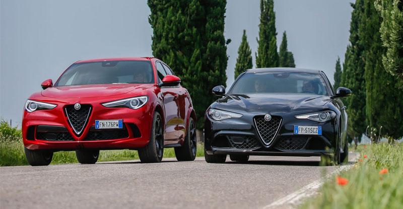 Nouveauté Maroc - Du changement pour les Alfa Romeo Stelvio et Giulia