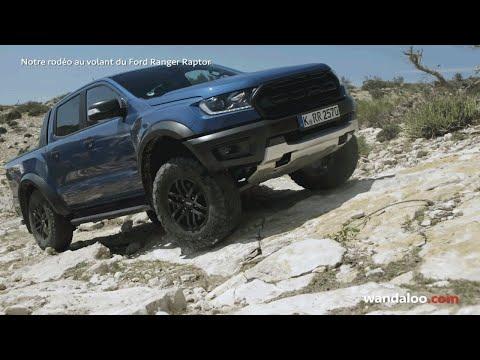 Essai du FORD Ranger Raptor Maroc