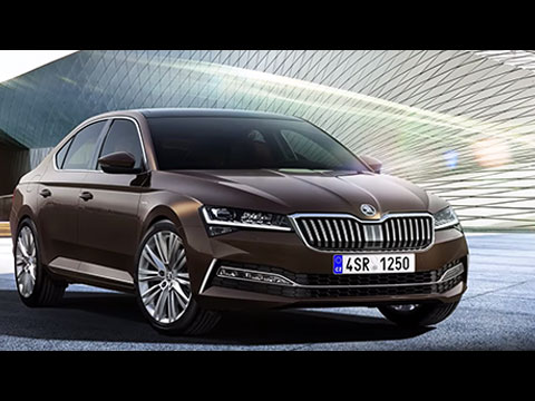 Skoda Superb 2020 - le film officiel
